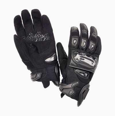 MOTORCYCLE GLOVE SHORT CARBON