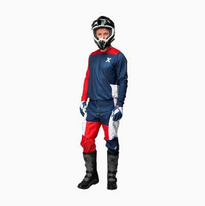 MOTOCROSS CLOTHES RED PANTS 4X