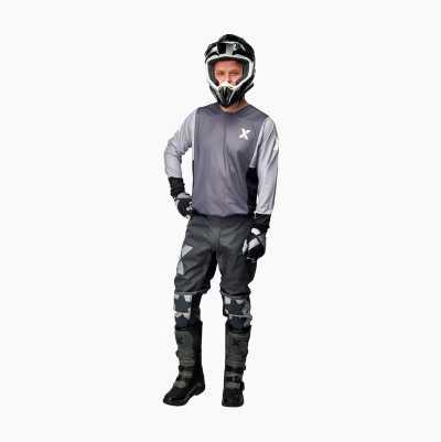 MOTOCROSS CLOTHES GREY PANTS 3