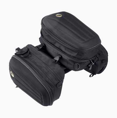 SADDLE BAGS W TAIL BAG SET