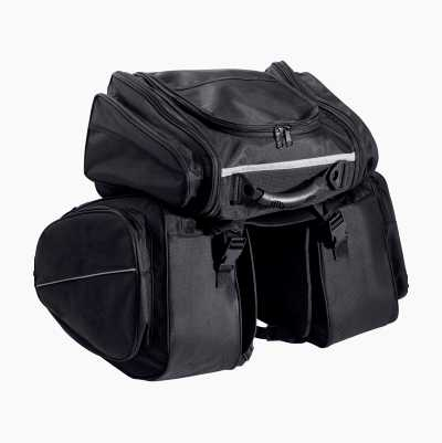 SADDLEBAG W TOPBAG SET