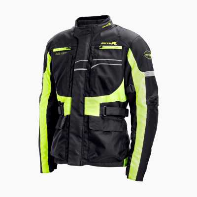 MOTORCYCLE JACKET HI VIS XXL