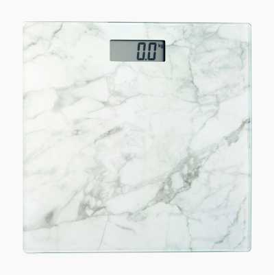 PERSONAL SCALE MARBLE WHITE