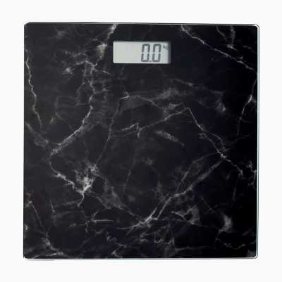 PERSONAL SCALE MARBLE BLACK