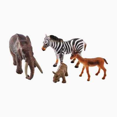 JUNGLE ANIMAL PLAY SET