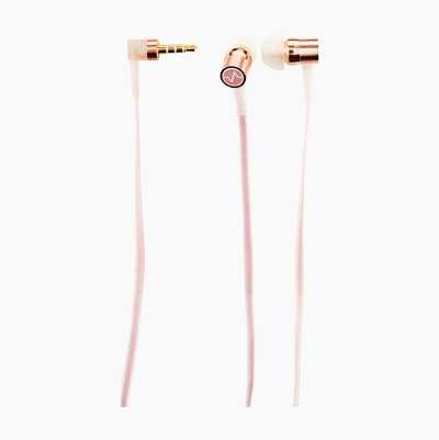 EARPHONES IN METAL ROSE