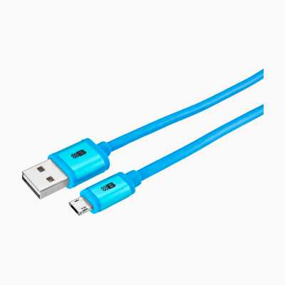 USB A – MICRO REV. BLUE 1,8M