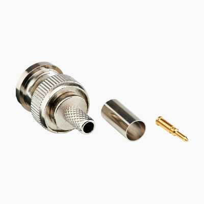 BNC MALE CONNECTOR FOR RG58U