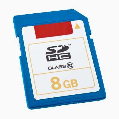 SDHC-MUISTIKORTTI 8GB