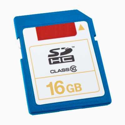 SDHC MEMORYCARD 16GB