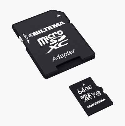 MINNESKORT MICRO SDXC 64GB