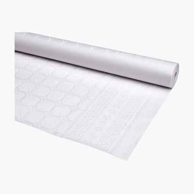 TABLECLOTH IN ROLL WHITE 25M