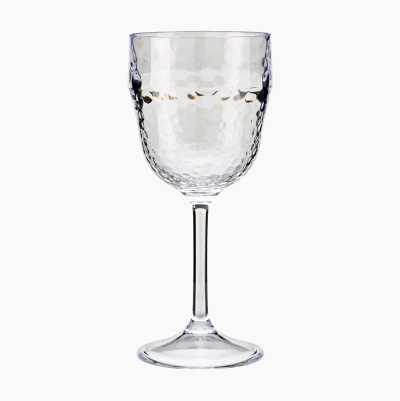 PLASTIC WINEGLASS