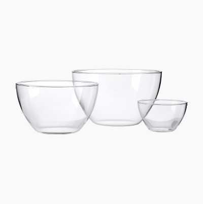 MIXING BOWL GLASSES 1,5L