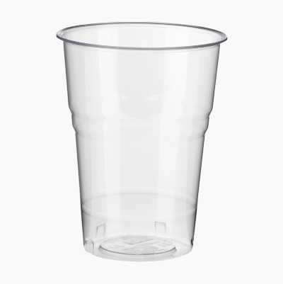 PLA GLASSES 25CL, 25P