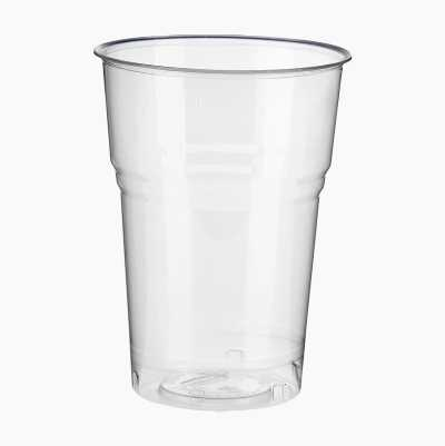 PLA GLASSES 40CL, 25P