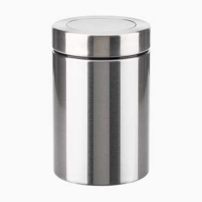 STORAGE JAR WITH WINDOW LID 0,