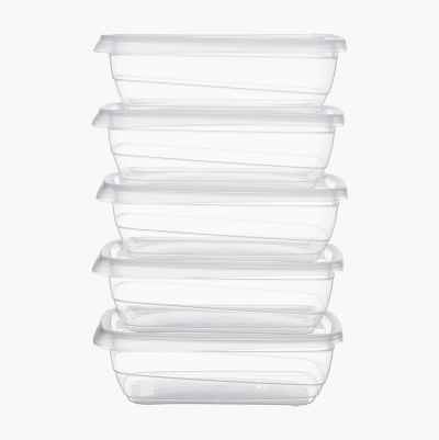 FOOD CONTAINERS 1 L 5P