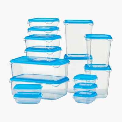 FOOD CONTAINERS SET OF 15