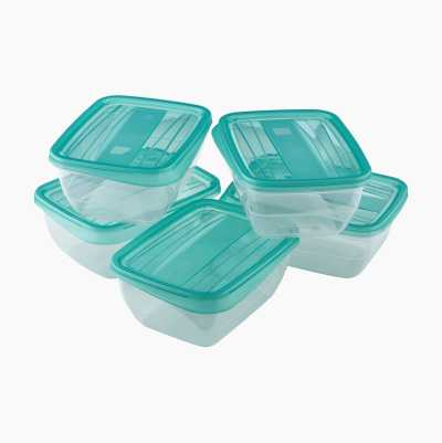 FOOD CONTAINERS 0,75 5P