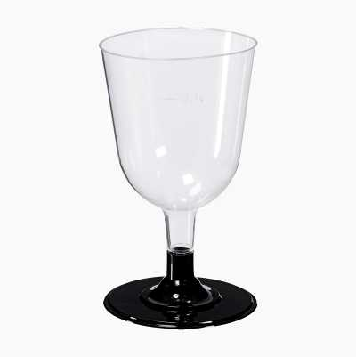 PLASTIC WINEGLASS 17,5 CL,10-P