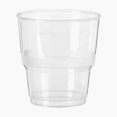 PLASTIC CUP 5 CL, 40-P