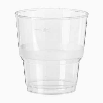 SNAPSGLAS PLAST 5CL, 40-P