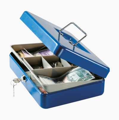 CASH BOX BLUE