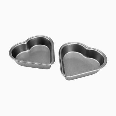 MINI HEART PANS 2P