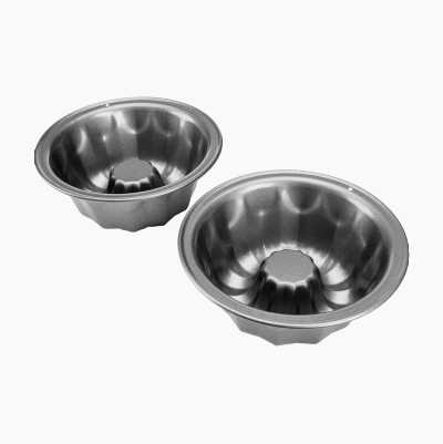 MINI FLUTED CAKE PANS 2P