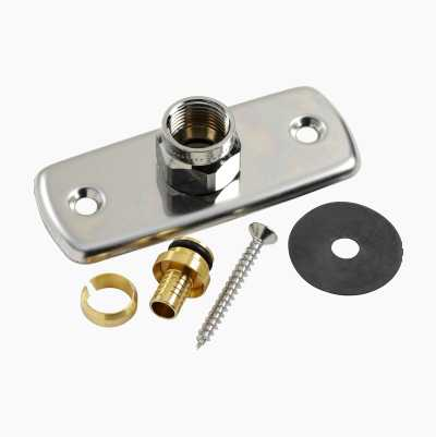 WALLPLATE SINGLE FOR PEX 15MM