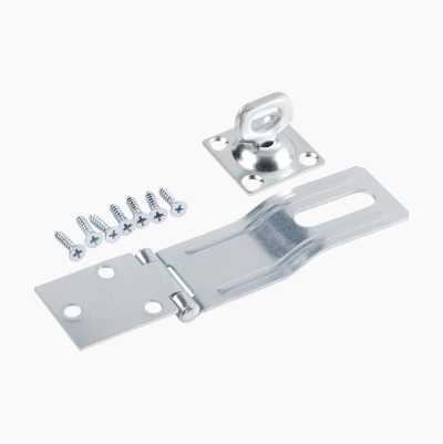 PADLOCK HASP STEEL 110MM TURN