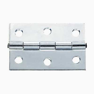 2PCS BUTT HINGE METAL 76X49