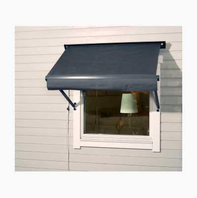 WINDOW AWNING 1,3*0,7 M LGREY