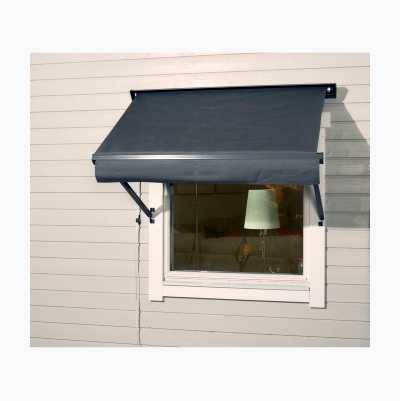 WINDOW AWNING 1,3*0,7 M LGREY