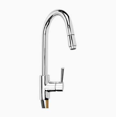 "KITCHEN FAUCET WITH ""PULLDOWN"""