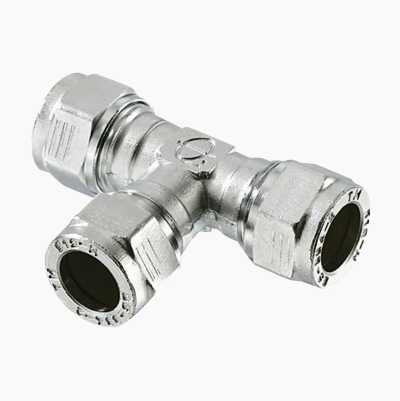 22X15X22 T-CONNECTION CU-PIPE