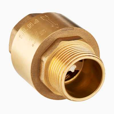 "1/2"" CHECK VALVE FEM/MALE THR."