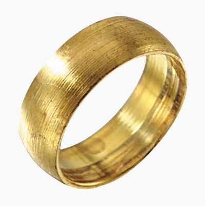 22MM COMPR. RINGT IN BRASS