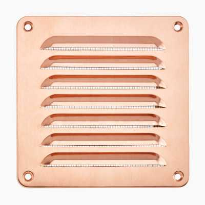 VENT.GRATE SCREWSQUARE155MM CU