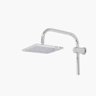SHOWER HEAD CHROME SQUARE 200