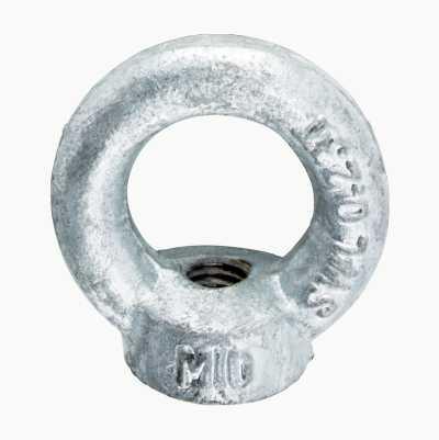 EYE NUT M10 HOT GALV.4PCS