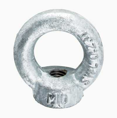 EYE NUT M10 HOT GALV.4PCS