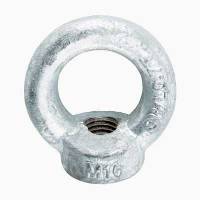 EYE NUT M16 HOT GALV.2PCS