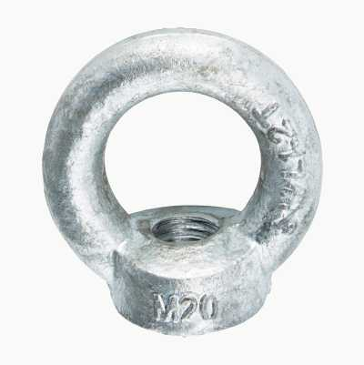 EYE NUT M20 HOT GALV.2PCS