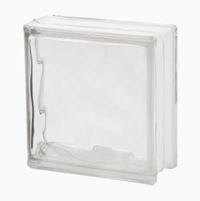 GLASS BLOCK,19X19X8CM, END
