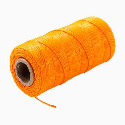 BRICKLAYER STRING 120M ORANGE