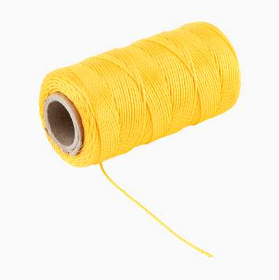 BRICKLAYER STRING YELLOW 120M