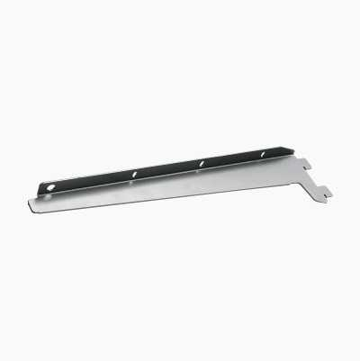 BRACKET L/R SIDE 390MM SILVER