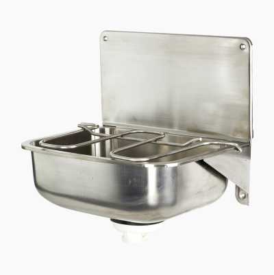 WASTE SINK STAINLESS STEEL